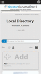 Mobile Preview of directory.decaturalabamadirect.info