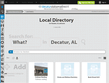Tablet Preview of directory.decaturalabamadirect.info